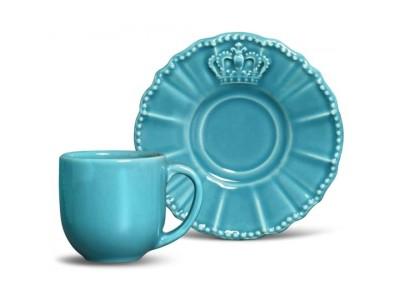 Xícara Café Windsor Azul